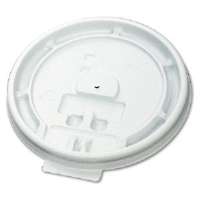 Boardwalk 8TABLID 8 Ounce Tear Tab Plastic Cup Lids, 1000/Cs.