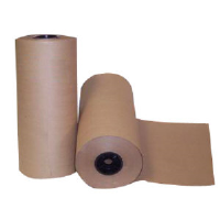 "Boardwalk KFT24301000 Kraft Paper Rolls, 30#, 24""x1000"