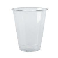 Boardwalk YP-10C Clear Plastic Cups, 10 Ounce, 900/Cs.