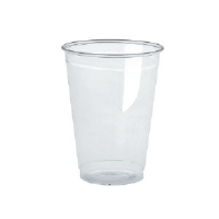 Boardwalk YP-160C Clear Plastic Cups, 16 Ounce, 700/Cs.