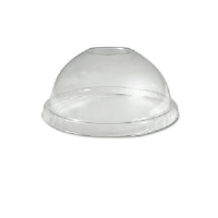Boardwalk YPDL-20C 5 Ounce Sundae Clear Dome Lids, 900/Case