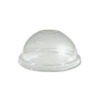 Boardwalk YPDL-24C 12 Ounce Sundae Clear Dome Lids, 900/Case