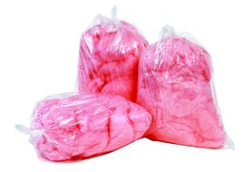 Paragon 7851 Cotton Candy Plastic Bags, 1000/Cs