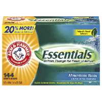 Arm & Hammer 14995 Essentials™ Fabric Softener Sheets