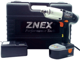 "Znex CI-3181 1/2"" Drive Cordless 18.0 V Impact Wrench Kit"