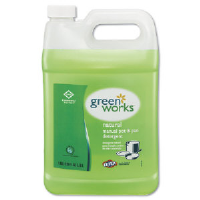 Clorox 30388 Green Works™ Natural Dishwashing Liquid, 4/128 Oz