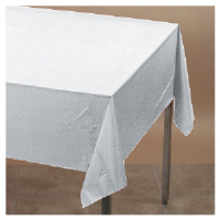 "Converting Inc. 13180 Plastic Table Cover Roll, White, 40"" x 300"