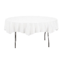 "Converting Inc. 923272 Octy-Round® Table Cover, 82"", 12/Case"