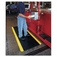 Ludlow Composites CD35 BYB Industrial Deck Plate Anti-Fatigue Mat
