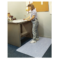 Ludlow Composites CU3660S FGR Cushion-Step® Anti-Fatigue Mat, 3x5, Gray