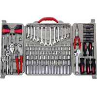 Cooper Tools CTK170MP Crescent® 170 Pc. Mechanic's Tool Set