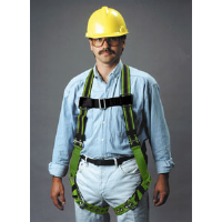 Sperian E650-4/UGN Miller DuraFlex® Stretchable Safety Harness, Universal