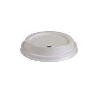 Eco Products EP-HL8-W White Dome Hot Cup Lids, 8 Ounce