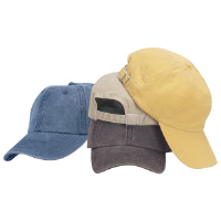 Head To Toe 834 Adult 6 Panel Pigment-Dyed Cap, Mustard