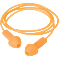 North Safety EP02100 Conic-Fit Corded Earplugs, (100 Pair)