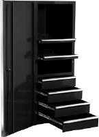"Extreme Tools EX2404SCBK 24"" Side Cabinet - Black"