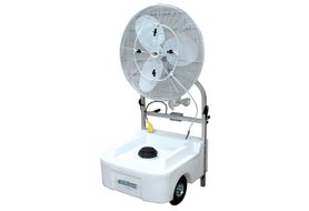 "J&D Manufacturing VPC30-POW 30"" Portable Cooling/Misting Fan Unit"
