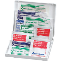 First Aid Only FAO-106 17-Piece Travel Kit, Plastic Case