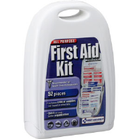 First Aid Only FAO-122 52-Piece All-Purpose Kit, Plastic Case