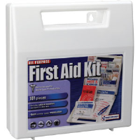 First Aid Only FAO-142 181-Piece All-Purpose Kit, Plastic Case