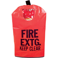 Extinguisher Cover w/Window, Small