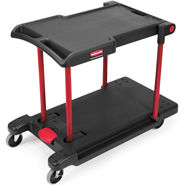Rubbermaid 4300 Convertible Utility Cart/Platform Truck