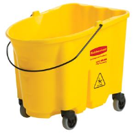 Rubbermaid 7570-88 WaveBrake™ 35 Qt. Mop Bucket w/ Casters