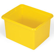 Rubbermaid 9T84 30 Quart Organizing Bin, Yellow