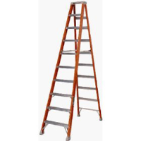 Louisville Ladders FS1510 10' Fiberglass Ladder