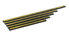 Unger GC400 Brass Channel for Golden Pro/Golden Clip Squeegee, 16""