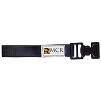 MCR Safety GCB Glove/Utility Clip w/ Nylon Strap, Black