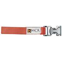 MCR Safety GCO Glove/Utility Clip w/ Nylon Strap, Orange