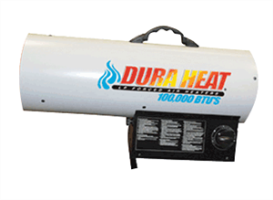 DuraHeat GFA100A 100,000 BTU Variable Temp. Propane Heater