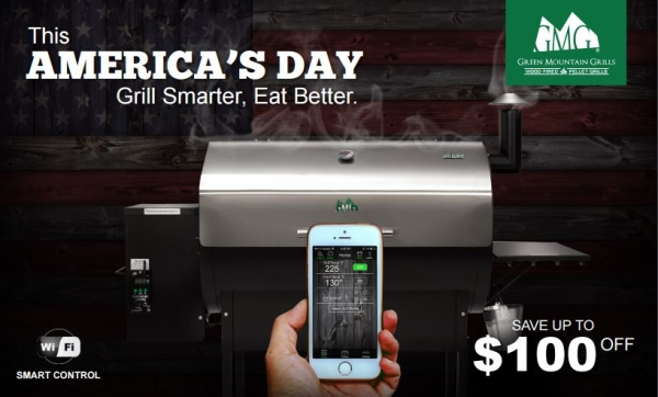 Green Mountain Grills 4th of July Sale - Order Your New GMG Today!