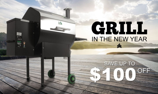 Buy Today - Save $75 on GMG Daniel Boone Wifi Grills with Free Pellets