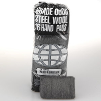 Global Material Technologies 117000 Industrial Steel Wool Hand Pads, #0000 FINEST