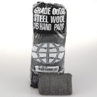 Global Material Technologies 117003 Industrial Steel Wool Hand Pads, #0 MED FINE