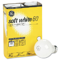 General Electric 41036 Incandescent Light Bulbs, 100 Watt, 4 Pack