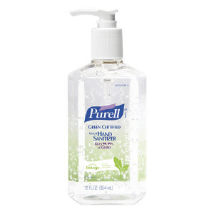 Gojo 3691-12 Purell® Green Certified Hand Sanitizer, 12 Ounce