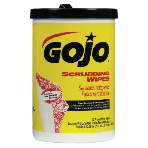 Gojo 6396-06 Scrubbing Wipes, 6/72