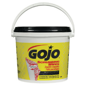 Gojo 6398-02 Scrubbing Wipes, 2/170