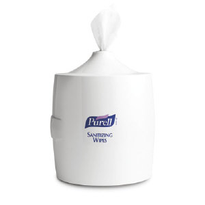 Gojo 9019-01 Purell® Sanitizing Wipes Wall Dispenser