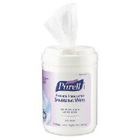 Gojo 9031-06 Purell® Alcohol Formulation Sanitizing Wipes
