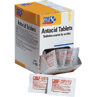 First Aid Only H434 Antacid Tablets, (100/Box) 50Pk / 2 ea