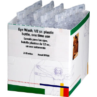 First Aid Only H7020 One Time Use 1/2 oz Eye Wash, 24/Box