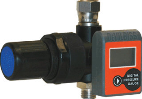 DeVilbiss HARG-555 Air Regulator W/Digital Gauge
