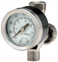 DeVilbiss HAV-501 Air Adjusting Valve/Gauge