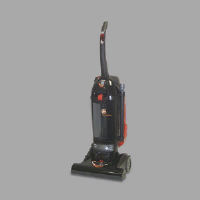 Hoover 1660 HUSH Vac Twin Chamber™ Bagless Vacuum, 15 Inch