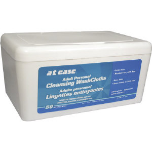 Hospeco HS3821 At Ease® Adult Personal Premoistened Wipes