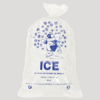 Inteplast Group IC1221 Cool Penguin 10 Pound Ice Bags